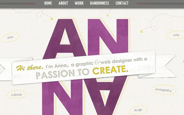 Website Navigation Examples