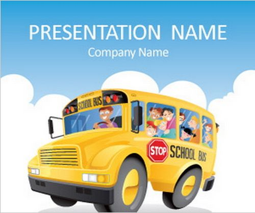 Download 20 free education powerpoint presentation templates for school bus powerpoint template toneelgroepblik Gallery