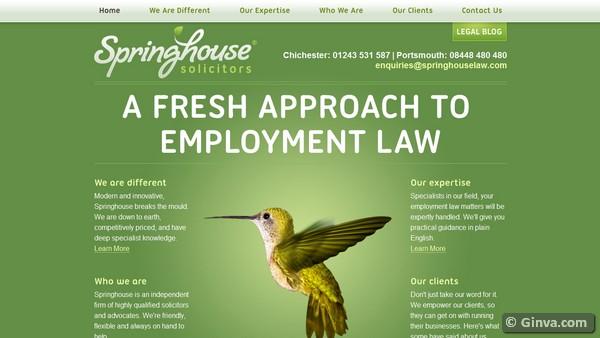 25 Beautiful Examples Of Green Website Design Ginva