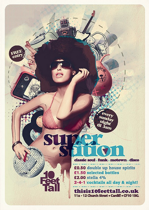 25 Stunning Examples of Nightclub Party Poster / Flyer Design Ideas ...