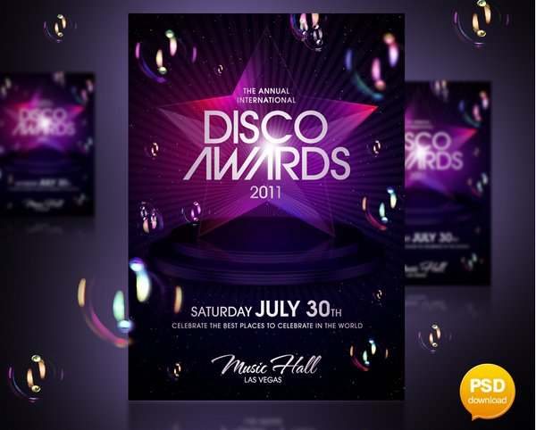 25 stunning examples of nightclub party poster    flyer