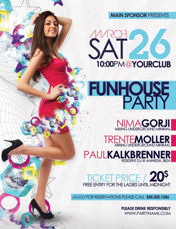 25 stunning examples of nightclub party poster flyer design ideas ginva - Poster Designs Ideas