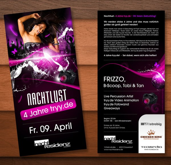 25 Stunning Examples of Nightclub Party Poster / Flyer Design ...