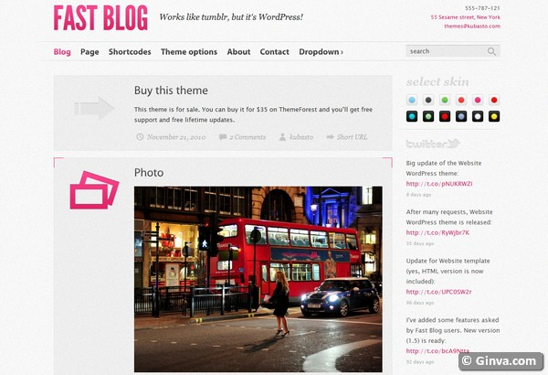 personal blog wordpress theme 17