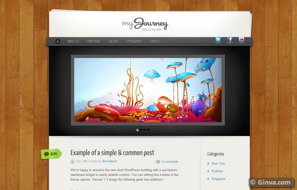 personal blog wordpress theme 18