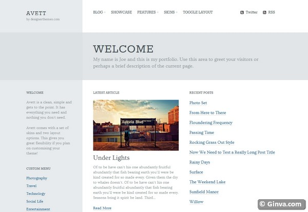 personal blog wordpress theme 25