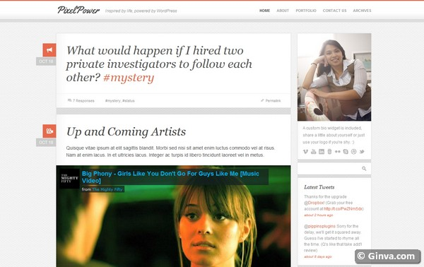 personal blog wordpress theme 26