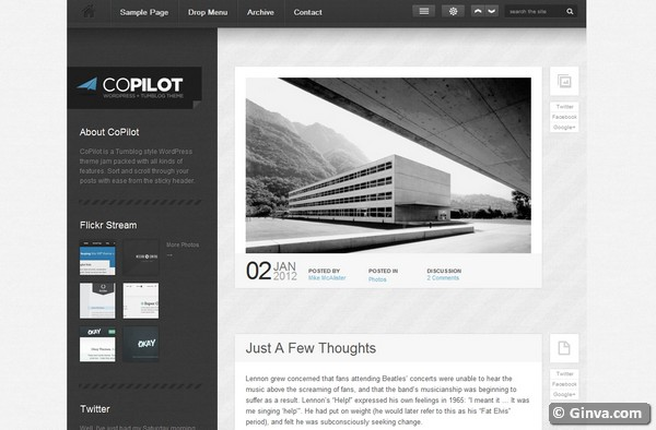personal blog wordpress theme 29