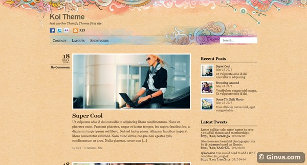 personal blog wordpress theme 6