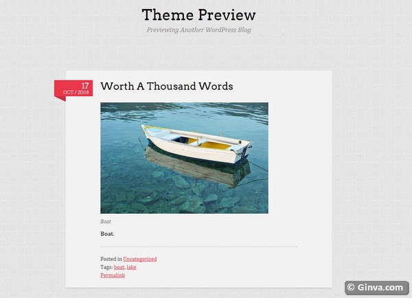 personal blog wordpress theme 9