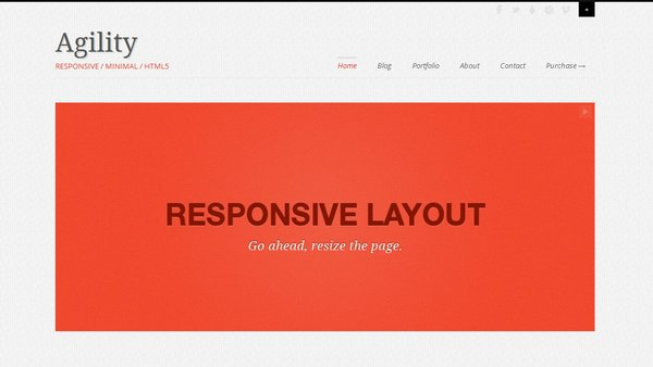 responsive html css website template layout 10