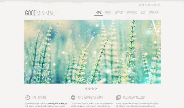 responsive html css website template layout 12