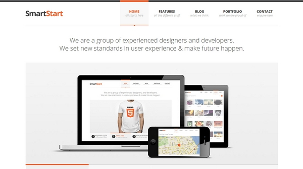 responsive html css website template layout 15