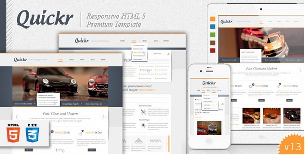 responsive html css website template layout 16