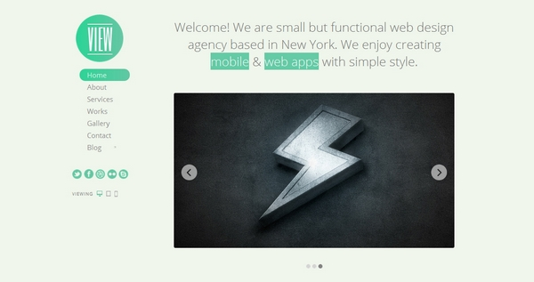 responsive html css website template layout 19