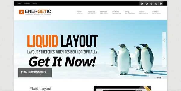 responsive html css website template layout 26