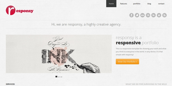 responsive html css website template layout 30