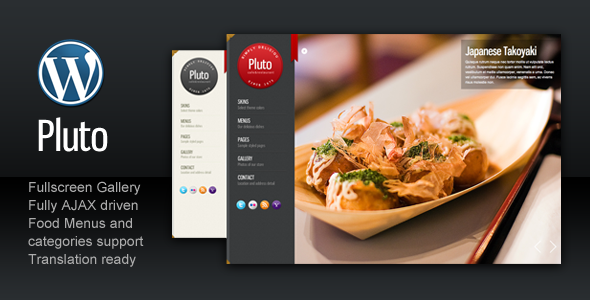 Premium Restaurant Web Templates / Theme