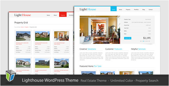 Light House - Clean Real Estate WordPress Theme - ThemeForest Item for Sale