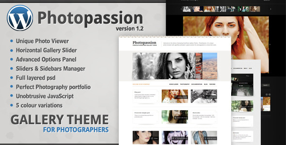 Photoblog WordPress Theme
