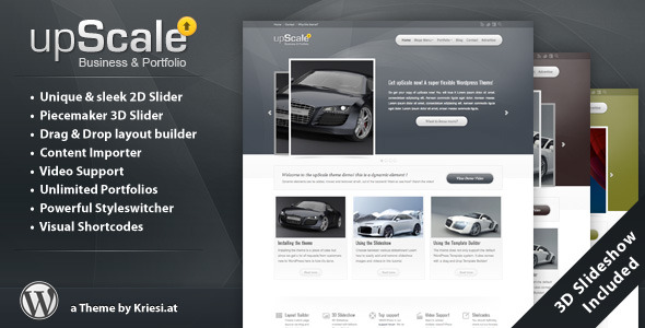 upScale - WordPress Business & Portfolio Theme - ThemeForest Item for Sale