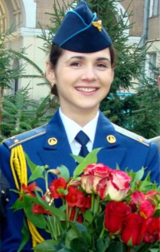 Ukraine Female Pilot