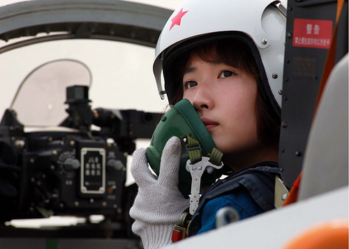 Female Chinese Pilot