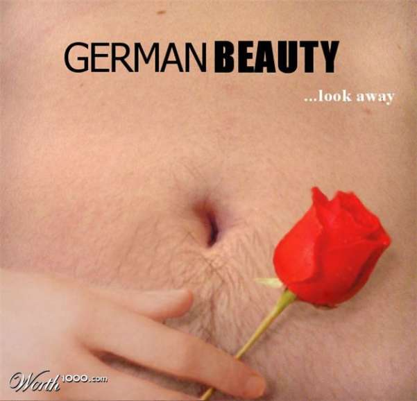 German Beauty - Look Away