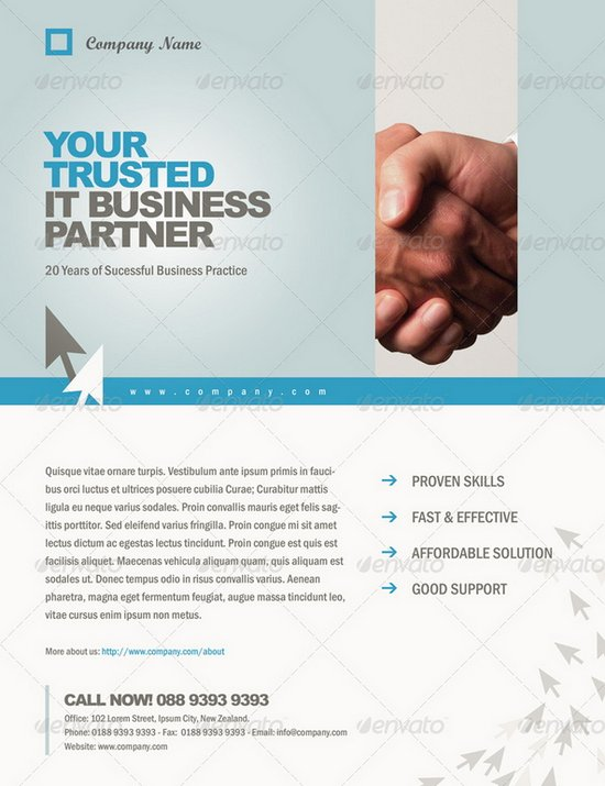 20 Professional Flyer Design Templates For Multi Purpose Business