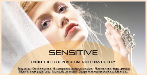 Sensitive - the next generation WordPress theme - ThemeForest Item for Sale