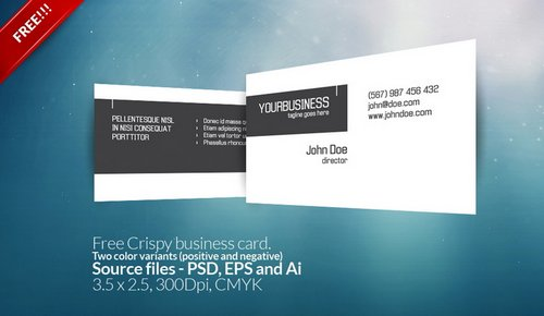 44 free clean and simple white business card template in psd ginva 3 crispy fbccfo Image collections