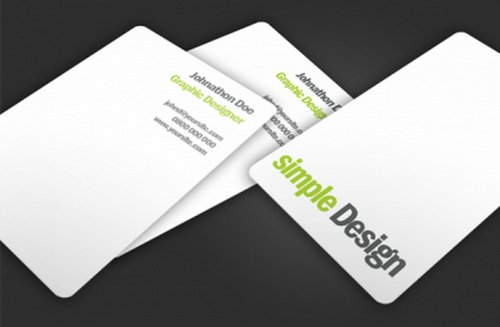 44 free clean and simple white business card template in psd ginva 32 simple design colourmoves