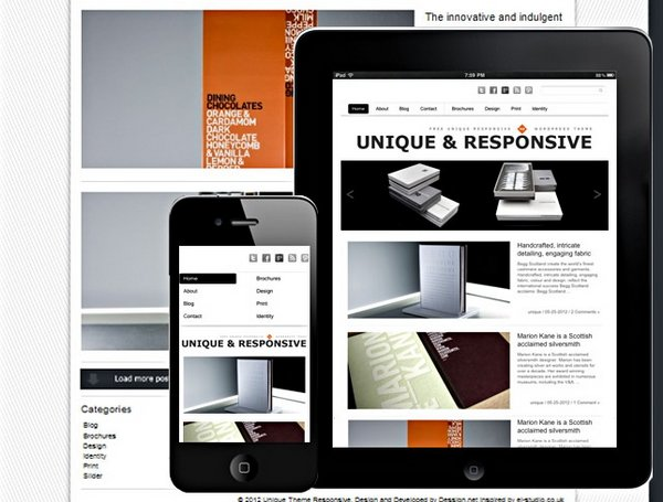 40+ Free and Premium Responsive Portfolio WordPress Themes | Ginva