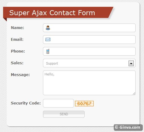 55 Useful and Free Web Forms {CSS, HTML & jQuery} | Ginva
