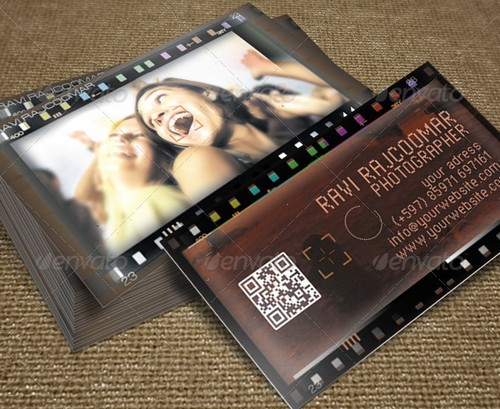 Cool Photographer Business Cards PSD And Examples Ginva - Photography business cards templates free