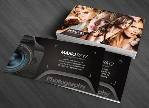 33 cool photographer business cards psd and examples ginva reheart Images