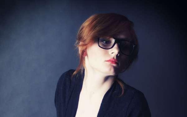 cute girl glasses wallpaper - photo #11
