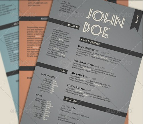 graphic designer resume