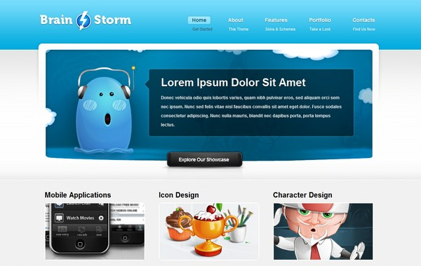 portfolio website templates 10