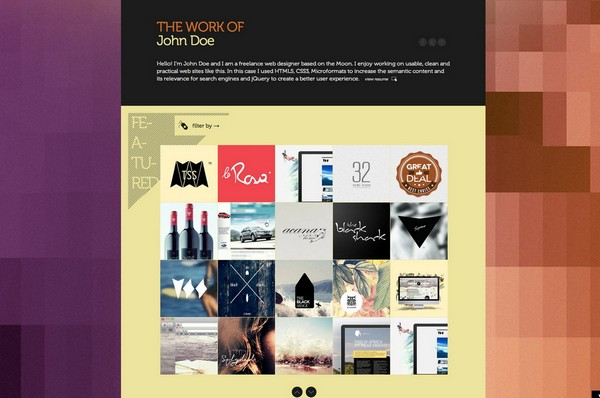 portfolio website templates 13