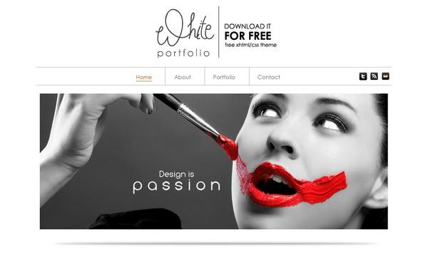 24 free and premium portfolio website templates ginva