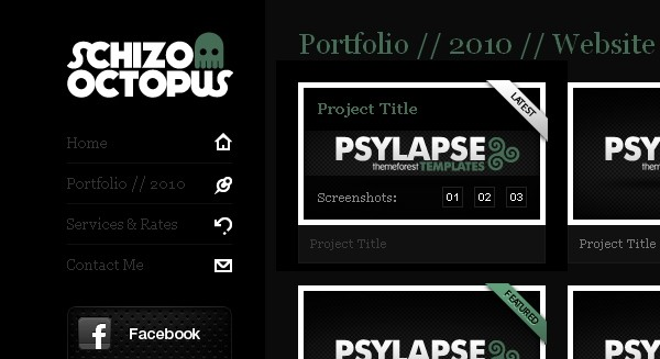 portfolio website templates 9