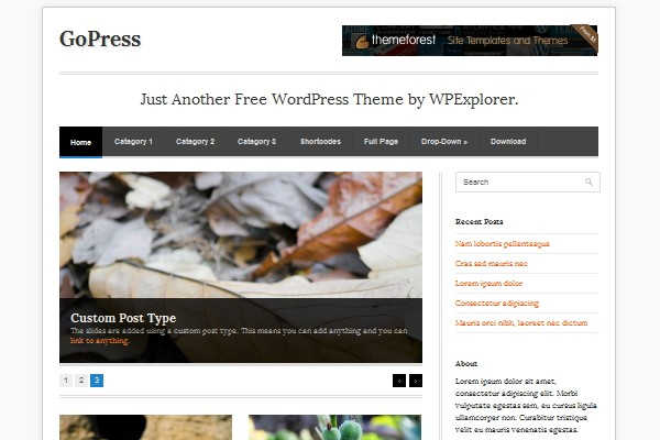 11 free magazine wordpress theme 2012