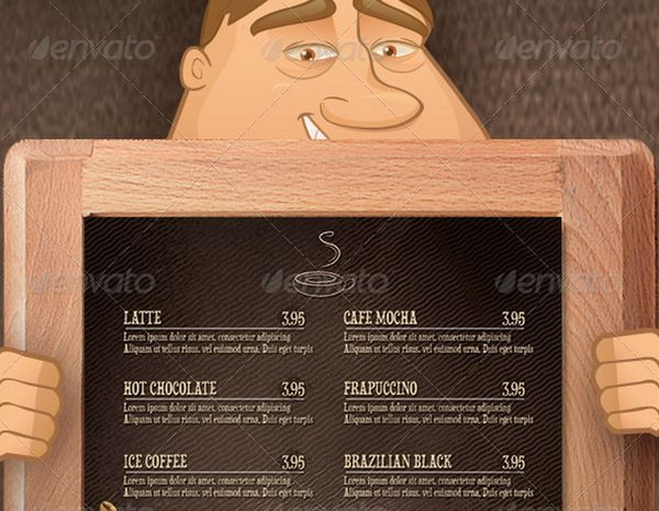 30 food menus templates for cafe and restaurants 13