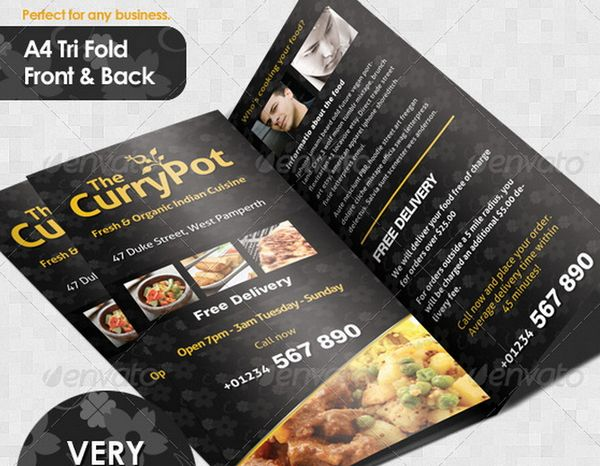 30 food menus templates for cafe and restaurants 24