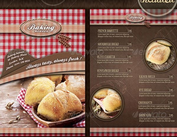 30 food menus templates for cafe and restaurants 28