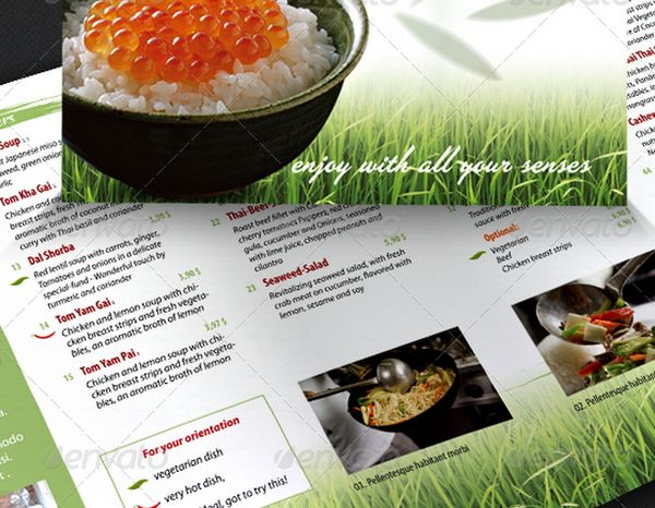 30 food menus templates for cafe and restaurants 29