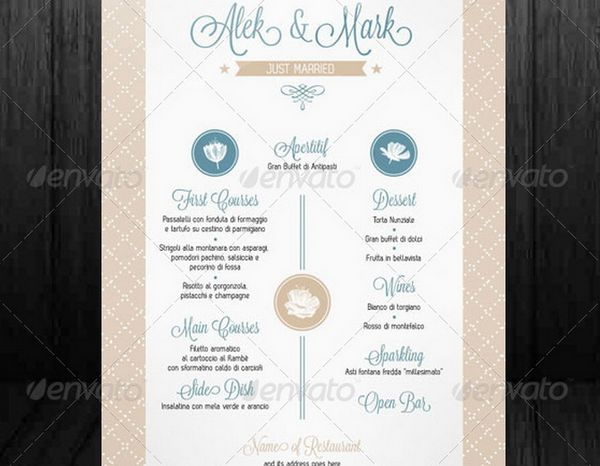 30 food menus templates for cafe and restaurants 30