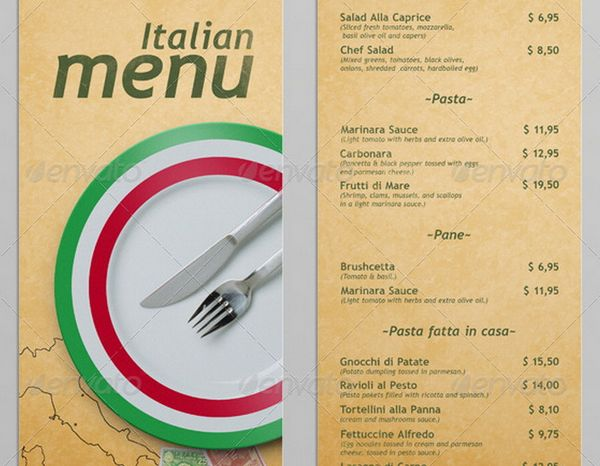 30 food menus templates for cafe and restaurants 31