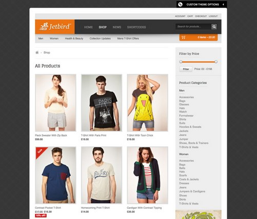 27 Free and Premium eCommerce WordPress Themes for Your Online ...